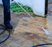 High-Pressure Surface Cleaning